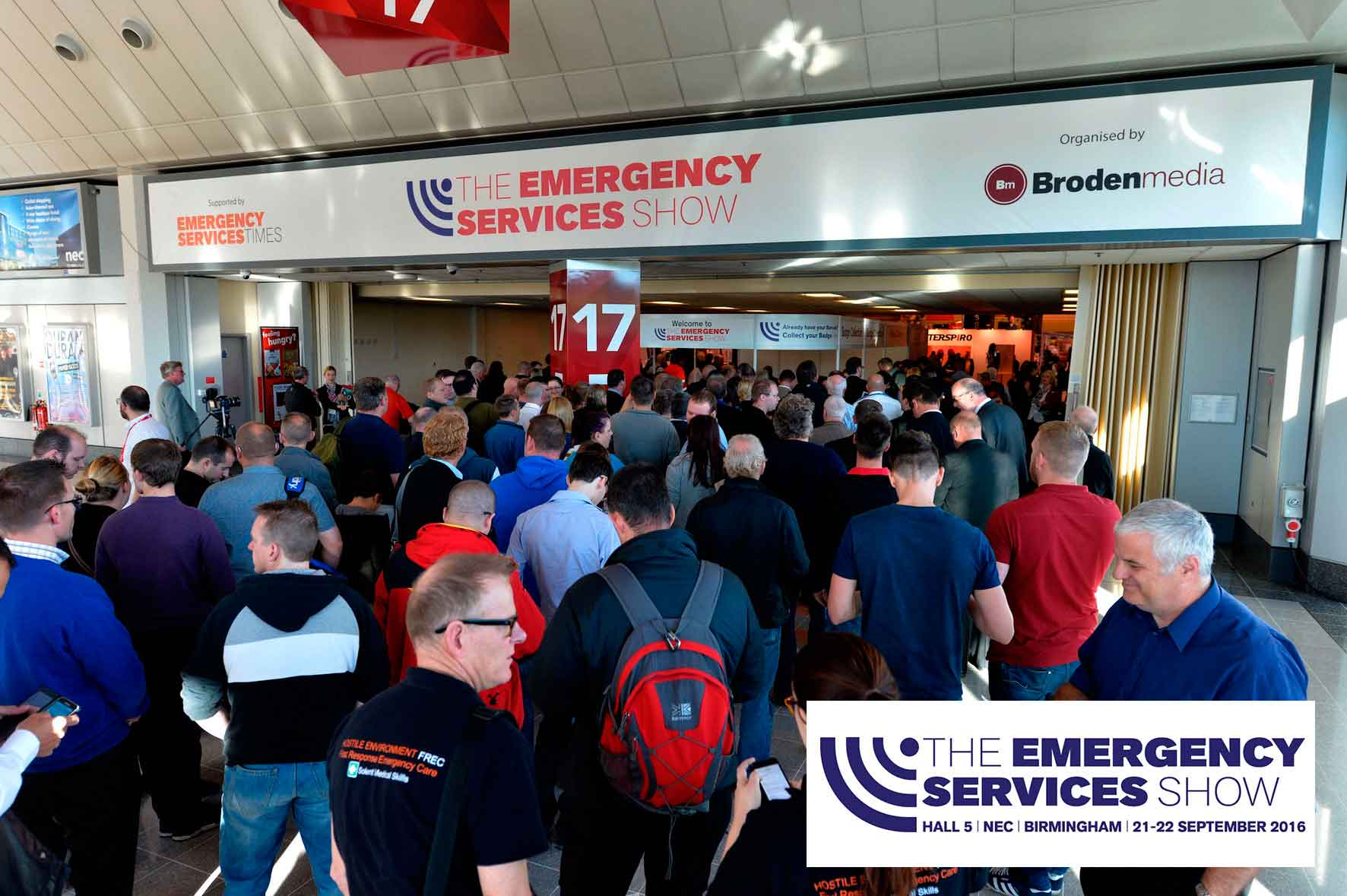 Confined Space Services attend Emergency Services Show