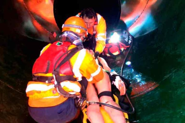 Confined Space Services Rescue Training